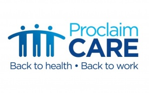 Proclaim Care logo for Personal Injury Awards 2019