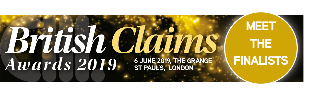 British Claims Awards 2019 Meet the finalists