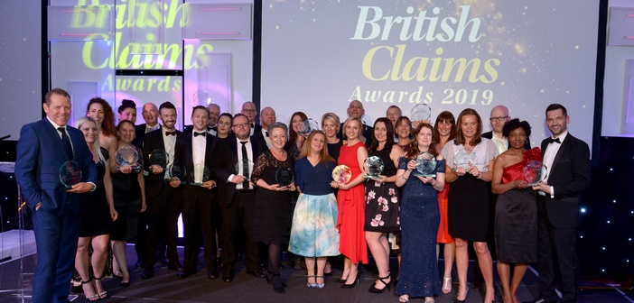British Claims Awards 2019 winners revealed