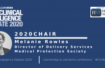 Clinical Negligence Debate 2020 - Chair confirmed