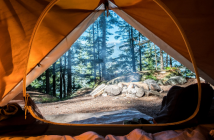 Campings.com and Setoo offer rainy day protection for campers