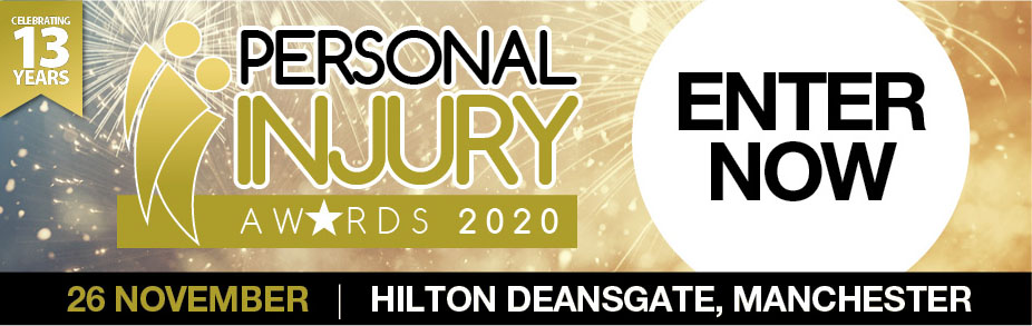 Personal Injury Awards 20 - Enter now