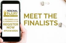Meet the finalists of the Personal Injury Awards 2020