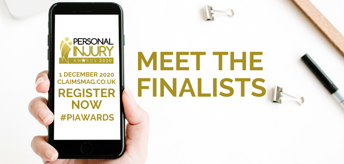 Personal Injury Awards 2020 - Meet the finalists