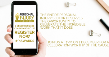 Personal Injury Awards 2020 moves online 2