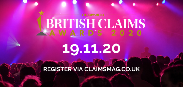 Get registered and ready for the British Claims Awards 2020