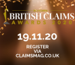 Meet the finalists of the British Claims Awards 2020