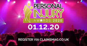 Get registered and ready for the Personal Injury Awards 2020